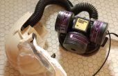 Conversion d'un respirateur PAPR à alimentation USB