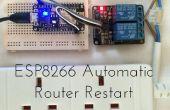 ESP8266 Redémarrage du routeur automatique