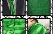 Concevoir votre propre tissu avec des icônes pour représenter vos intérêts (& en faire une cravate!)