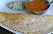 Spécial Masala Dosa - South Indian Style