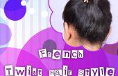 Français Twist cheveux Style tutoriel pour les débutants!!!