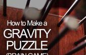 Comment faire un Puzzle de gravité (jeu de cerveau)