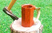 Comment faire un Mug de plancher de bois dur Scrap