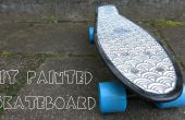 BRICOLAGE peinture skateboard