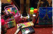 Comment faire pour avoir une partie art de lueur à la maison
