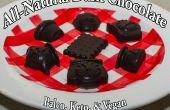 Tous les naturels paléo Keto Vegan chocolat noir