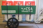 CSA and Compost Bicycle Trailer