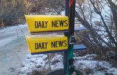Réchauffement de la planète Ski projet (Mailbox)