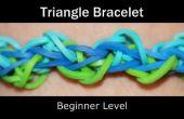 Arc-en-ciel à tisser Triangle Bracelet