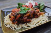 Sauce à Spaghetti Quinoa délicieux
