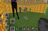 Combats de monstres dans Minecraft P.E!!!