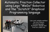 Collecteur de fraction pour la chromatographie (Lego Wedo et « Scratch »)