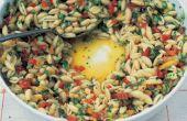 La meilleure recette de salade de pâtes avec des petites pâtes écalées