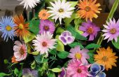 Faire des Bouquets de fleurs de papier