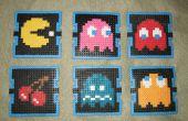 Pac Man boisson sous-verres (Perler Beads)