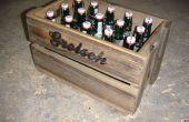 Caisse de bière en bois