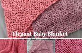 Couverture de bébé élégant - Crochet gratuit tutoriel