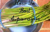 Comment faire bouillir les asperges