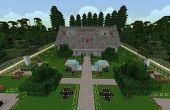 Villa de luxe de Minecraft