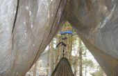 La cabane hamac : un facile faire hamac pluie-mouche