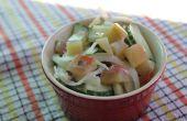 Salade de pastèque écorce cornichon