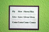 Comment aider vos enfants à retenir les verbes irréguliers