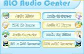Comment faire pour convertir WAV, MP3, MP2, MP1, MPEG, MP4, OGG, AVI, MPC, MOV, QT, WMA avec ALO Audio Center ?