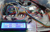 Enregistreur de voiture datta protocole utilisant OBD II (atmega 2560 + SD card + lcd 16 x 2)