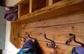 Cintre de manteau ferme du bois de palette