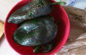 Rapide et facile des poivrons rôtis