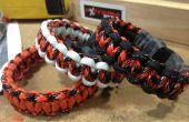Comment faire facilement un bracelet en paracorde cobra.