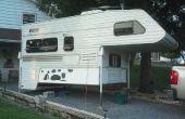 Pliage de stockage et catio pour une autocaravane séparable. (ou petit chien patio)