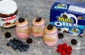 Oreo simple, coups de Dessert Nutella Party