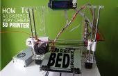 Comment monter une imprimante 3D très bon marchée
