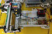 Comment faire pour activer l'imprimante jet d'encre pour imprimer sur le café