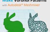 Faire des modèles 3D de Voronoï imprimable avec Autodesk® Meshmixer
