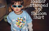 Tout-petit-estampillé « Up » inspiré des T-Shirt ballon