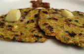 Makki Ki Roti en peluche / recette de pain indien