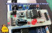 Arduino ATtiny85 programmeur bouclier sur PCB [ATtinyShield]