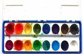 DIY : Faites vos propres couleurs de l'eau en utilisant seulement des ingrédients de coupe 2 !