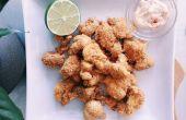 RECETTE | TREMPETTE aïoli pop-corn de chou-fleur & ail