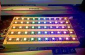 Matrice de LED RGB 10 x 5 avec seulement 5 broches d'e/s