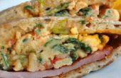 Faire des oeufs avant florentin petit déjeuner sandwichs