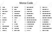 Expérience pour le plaisir : Encrypter le Code Morse en utilisant Arduino et Smartphone!!!