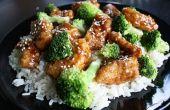 Facile de brocoli et de poulet chinois