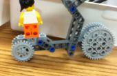 Roues défier entrée: (Muriel) hautement expérimentale Lego Skateboard