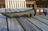 Comment faire une dague d'orcs en bois