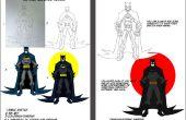 Batman d'encrage numérique andColoring