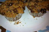 Muffins banane café chocolat puce