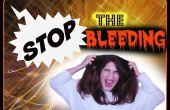 Comment arrêter le rouge à lèvres de saignement sur